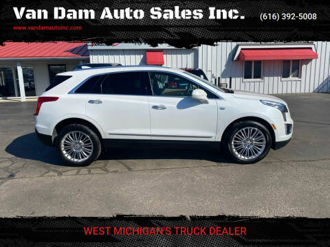 2018 Cadillac XT5 for sale at Van Dam Auto Sales Inc. in Holland MI