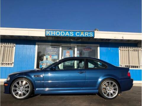 2003 BMW M3 for sale at Khodas Cars in Gilroy CA