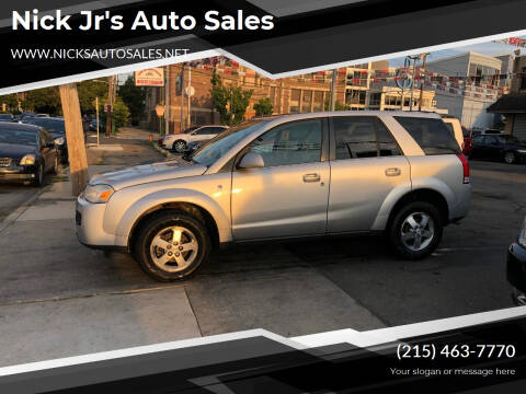 2007 Saturn Vue for sale at Nick Jr's Auto Sales in Philadelphia PA