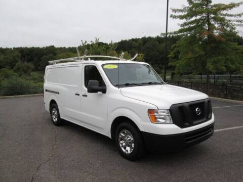 2017 Nissan NV Cargo for sale at Tri Town Truck Sales LLC in Watertown CT