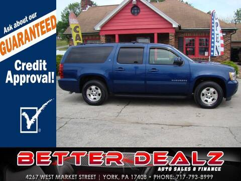 2012 Chevrolet Suburban for sale at Better Dealz Auto Sales & Finance in York PA