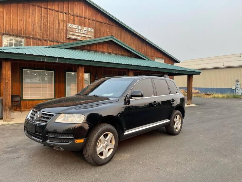 2007 Volkswagen Touareg for sale at Coeur Auto Sales in Hayden ID