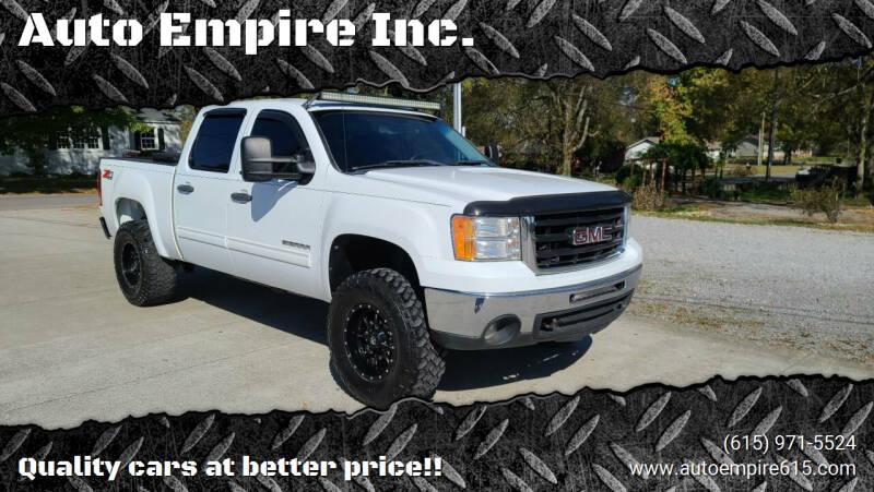 2011 GMC Sierra 1500 for sale at Auto Empire Inc. in Murfreesboro TN