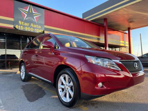 2010 Lexus RX 350 for sale at Star Auto Inc. in Murfreesboro TN