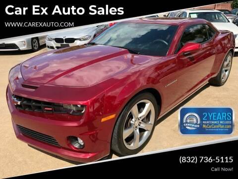 2011 Chevrolet Camaro for sale at Car Ex Auto Sales in Houston TX