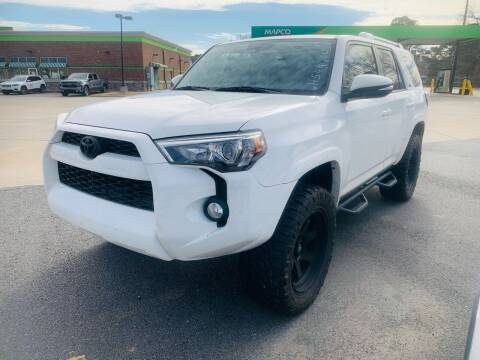 2017 Toyota 4Runner for sale at BRYANT AUTO SALES in Bryant AR