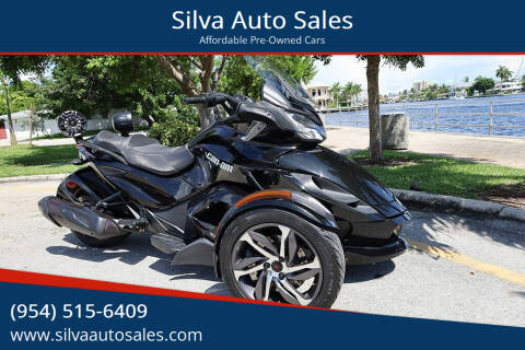 2014 Can-Am Spyder ST-S for sale at Silva Auto Sales in Pompano Beach FL