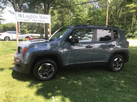 2018 Jeep Renegade for sale at McLaughlin Motorz in North Muskegon MI