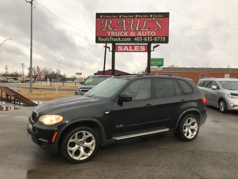 2012 BMW X5 for sale at RAUL'S TRUCK & AUTO SALES, INC in Oklahoma City OK