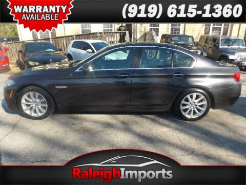 2016 BMW 5 Series for sale at Raleigh Imports in Raleigh NC