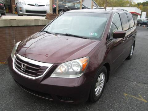 2010 Honda Odyssey for sale at WORKMAN AUTO INC in Pleasant Gap PA