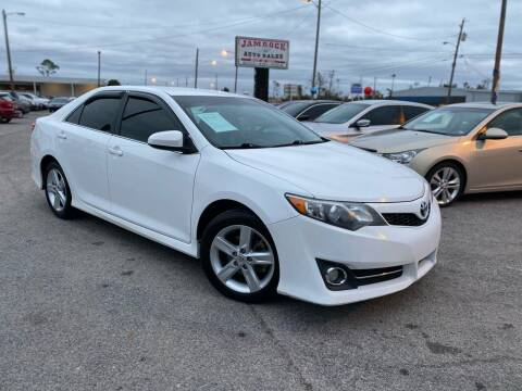 2014 Toyota Camry for sale at Jamrock Auto Sales of Panama City in Panama City FL