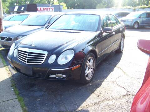 2008 Mercedes-Benz E-Class for sale at Collector Car Co in Zanesville OH