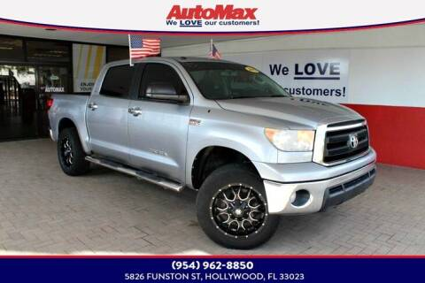 2013 Toyota Tundra for sale at Auto Max in Hollywood FL