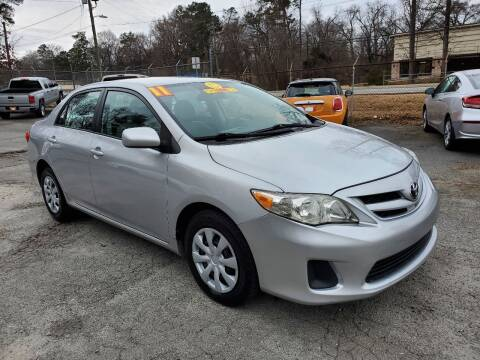 2011 Toyota Corolla for sale at Import Plus Auto Sales in Norcross GA