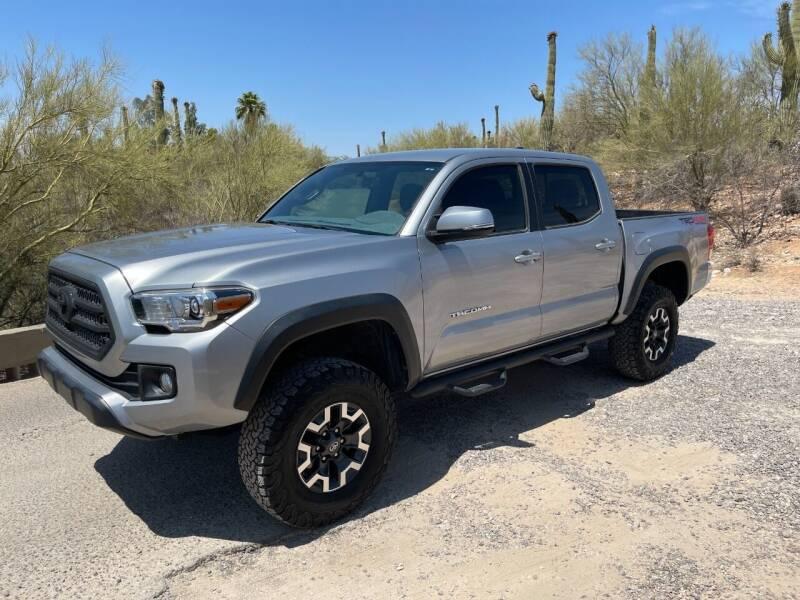 2017 Toyota Tacoma for sale at Auto Executives in Tucson AZ