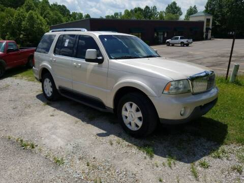 2005 Lincoln Aviator for sale at Scarletts Cars in Camden TN