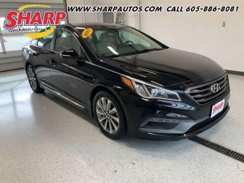 2017 Hyundai Sonata for sale at Sharp Automotive in Watertown SD