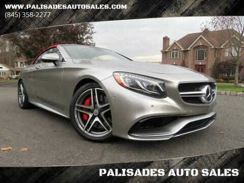 2017 Mercedes-Benz S-Class for sale at PALISADES AUTO SALES in Nyack NY