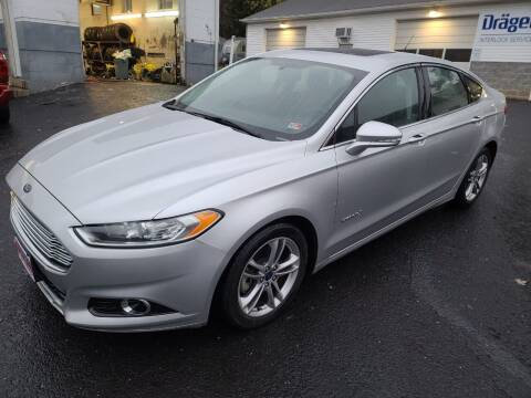 2015 Ford Fusion Hybrid for sale at Driven Motors in Staunton VA