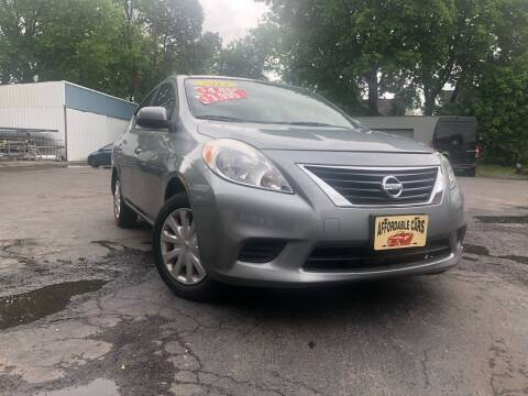 2012 Nissan Versa for sale at Affordable Cars in Kingston NY
