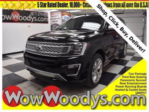 2018 Ford Expedition MAX for sale at WOODY'S AUTOMOTIVE GROUP in Chillicothe MO