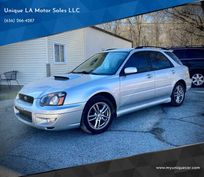 2005 Subaru Impreza for sale at Unique LA Motor Sales LLC in Byrnes Mill MO
