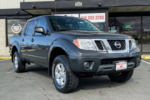 2013 Nissan Frontier for sale at Michaels Auto Plaza in East Greenbush NY