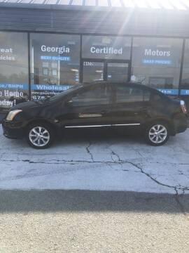 2010 Nissan Sentra for sale at Georgia Certified Motors in Stockbridge GA