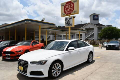 2018 Audi A6 for sale at Houston Used Auto Sales in Houston TX