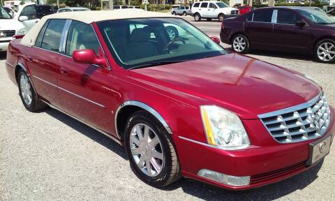 2006 Cadillac DTS for sale at Pinellas Auto Brokers in Saint Petersburg FL