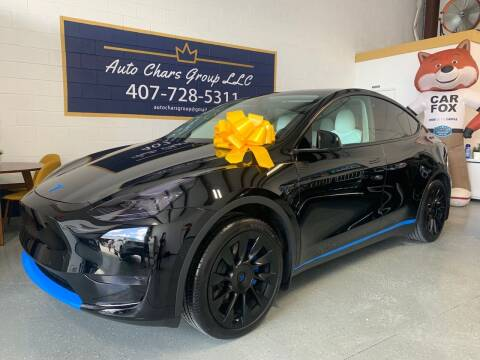 2021 Tesla Model Y for sale at Auto Chars Group LLC in Orlando FL