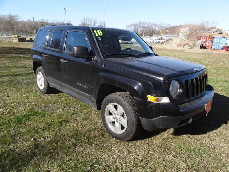 2016 Jeep Patriot for sale at John's Auto Sales in Council Bluffs IA