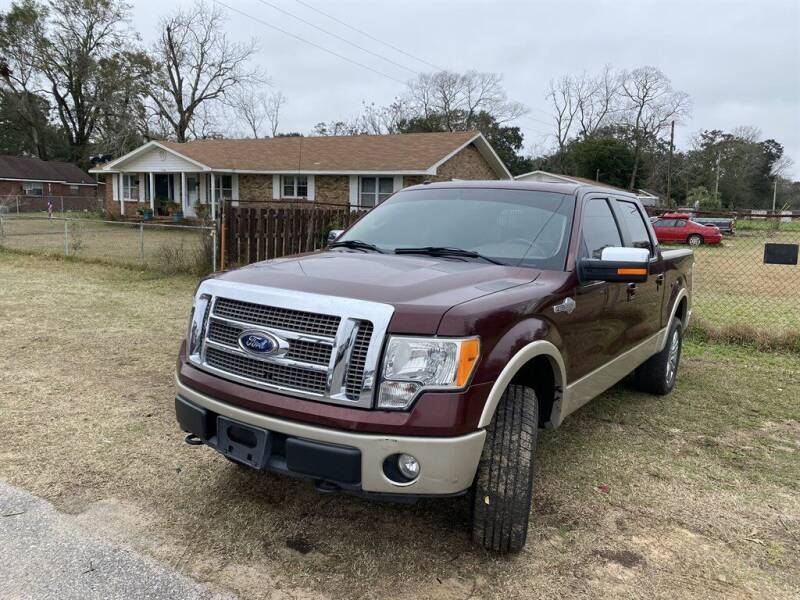 2009 Ford F-150 for sale at THE COLISEUM MOTORS in Pensacola FL