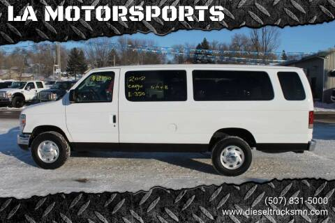 2012 Ford E-Series Wagon for sale at LA MOTORSPORTS in Windom MN