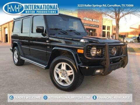 2002 Mercedes-Benz G-Class for sale at International Motor Productions in Carrollton TX