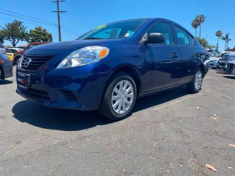 2012 Nissan Versa for sale at Auto Max of Ventura in Ventura CA