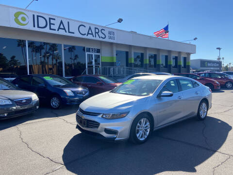 2017 Chevrolet Malibu for sale at Ideal Cars in Mesa AZ