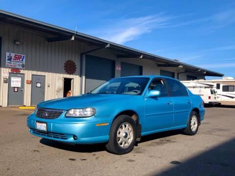 1998 Chevrolet Malibu for sale at DASH AUTO SALES LLC in Salem OR