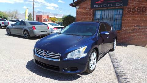 2014 Nissan Maxima for sale at Auto Click in Tucson AZ