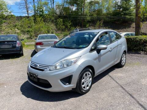 2012 Ford Fiesta for sale at Car Man Auto in Old Forge PA