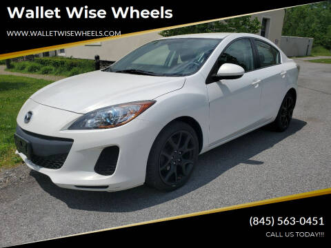 2013 Mazda MAZDA3 for sale at Wallet Wise Wheels in Montgomery NY