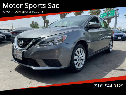 2019 Nissan Sentra for sale at Motor Sports Sac in Sacramento CA