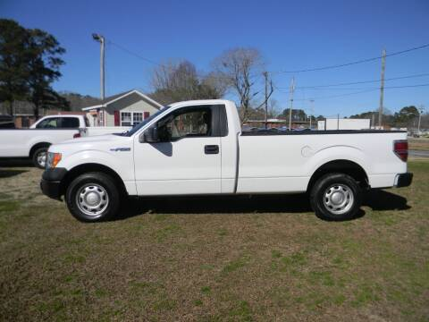 2012 Ford F-150 for sale at SeaCrest Sales, LLC in Elizabeth City NC