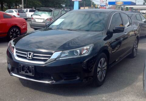 2015 Honda Accord for sale at Morristown Auto Sales in Morristown TN