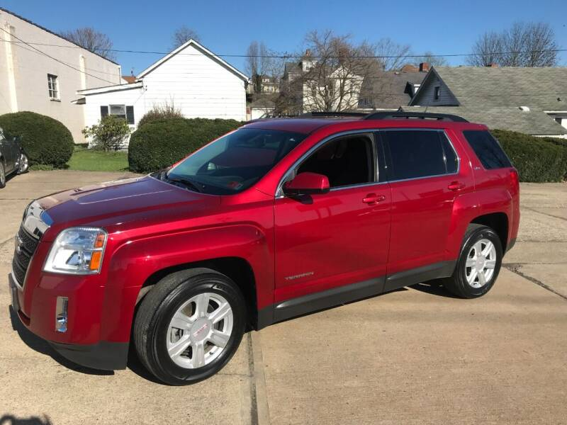 2014 GMC Terrain for sale at DALE'S PREOWNED AUTO SALES INC in Moundsville WV