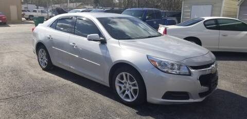 2014 Chevrolet Malibu for sale at Bill Bailey's Affordable Auto Sales in Lake Charles LA