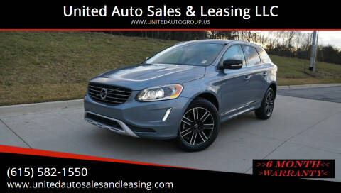 2017 Volvo XC60 for sale at United Auto Sales & Leasing LLC in La Vergne TN