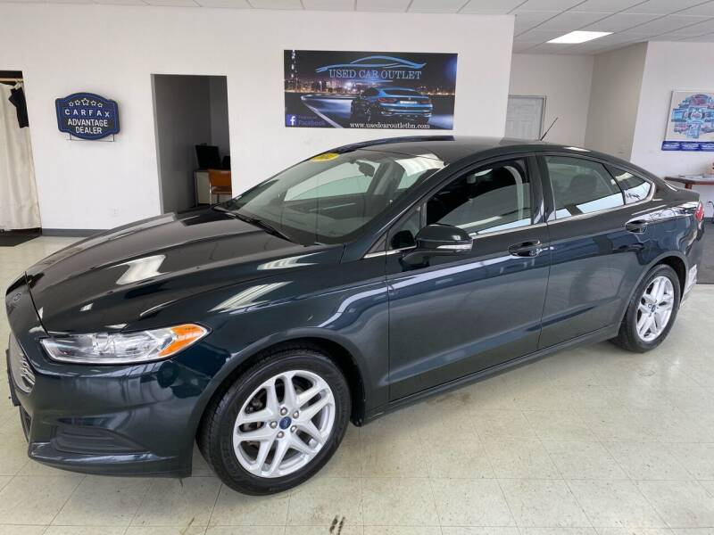 2014 Ford Fusion for sale at Used Car Outlet in Bloomington IL
