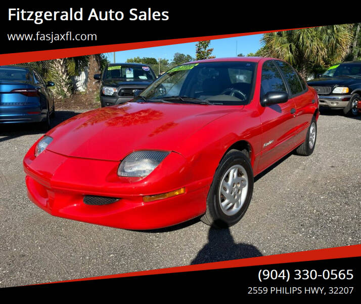 1999 Pontiac Sunfire for sale at Fitzgerald Auto Sales in Jacksonville FL